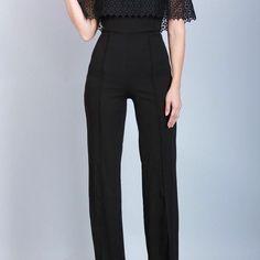 Off the Shoulder Jumpsuit Online Clothing Boutiques, Boutique Clothing, Off The Shoulder, Jumpsuit, Suits, Womens Fashion, Clothes, Dresses, Style