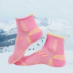 Ski Socks Men Women Kids Cotton Spandex Sport Snowboard