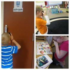 KindergartenWorks: the allure of being a letter detective -taking pictures of words . . . with OLD cameras!