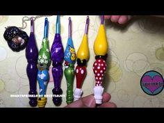 EASY Polymer Clay Crochet Hook Handle Tutorial. - YouTube