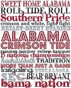 University+of+Alabama+Subway+Art+by+TheSouthernDarling+on+Etsy,+$5.00