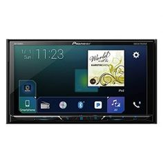 Pioneer Multimedia DVD Receiver with WVGA Display, Apple CarPlay, Android Auto, Built-in Bluetooth, SiriusXM-Ready and AppRadio Mode + Pioneer Car Stereo, Touch Screen Car Stereo, Double Din Car Stereo, Android Auto, Backup Camera, Dashcam, Car Audio, Multimedia, Ipod