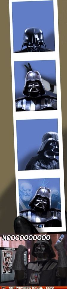 Photo booth vader