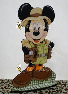 Porta Bis Duplo Turma Do Mickey Safári Mickey Safari Pinterest