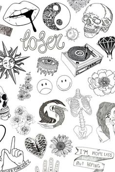 Perfect tattoo: choose a pattern by skin type. Tattoo Preparation & Care - - - Perfect tattoo: choose a pattern by skin type. Flash Art Tattoos, Body Art Tattoos, Sleeve Tattoos, Kritzelei Tattoo, Type Tattoo, Doodle Tattoo, Tattoo Quotes, Tattoo Old School, Tattoo Sketches