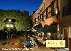 #Hotel Posada Santa Fe 4 Estrellas Jardín de Unión No. 12 #Guanajuato #Mexico #VenaGuanajuato
