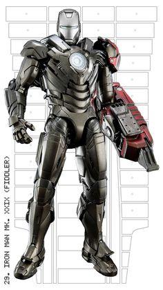 Iron Man mark XXIX (Fiddler)
