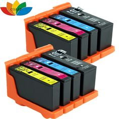 8 x Compatible ink cartridges for Lexmark Impact S305 Printer