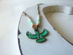 Isis Necklace  Isis  Egyptian  Isis Egypt  Egyptian by Mimok