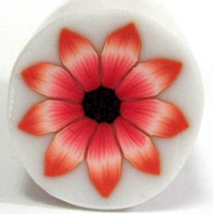 Polymer Clay Flower cane  Millefiori Light Red by sigalsart, $6.90