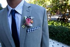 gingham accent is great!
