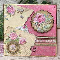 Cards and projects from our Forever Florals Rose collection featuring radiant rose imagery throughout. Card Making Inspiration, Making Ideas, Hunkydory Crafts, Vintage Birthday Cards, Luxury Card, Happy Birthday Images, Mothers Day Cards, Vintage Birds, Love Symbols