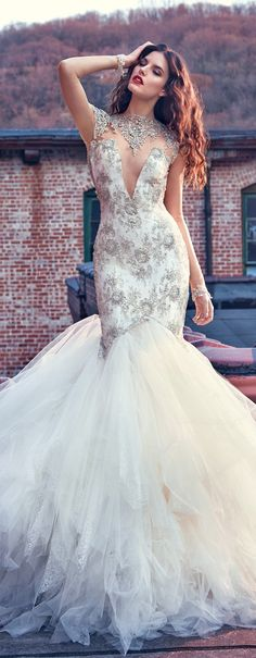 """Wedding Dress by Galia Lahav """"Les Reves Bohemians"""""""