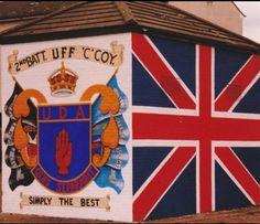 UDA shankill Belfast