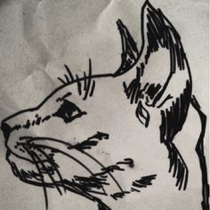 Cat sketch - ME