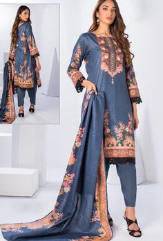 #Cotton #fabric is the #best #fabric in any #weathers, cotton #salwar #kameez is the best choice for any #girls or #womens, #Nikvik is the #bestseller of cotton salwar #suits in #USA #AUSTRALIA #CANADA #UAE #UK Buy Salwar Kameez Online, Salwar Suits Online, Diva Fashion, Party Fashion, White Salwar Suit, Indian Bridal Wear, Royal Blue Color, Blue Fabric, Cotton Fabric