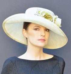 Wedding hat, Kentucky Derby Hat, Ascot hat,Derby hat, mother of bride hat, formal hat, garden party hat, tea hat
