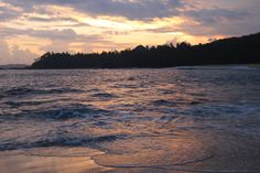 Sunset at the Amanwella Resort in Tangalle, Sri Lanka