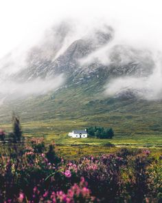 Glen Coe Scotland - by Jack Anstey One of my favorite places. I want that house! Places To Travel, Places To See, Glen Coe, England And Scotland, Scottish Highlands, Scotland Travel, Wonders Of The World, Travel Inspiration, Beautiful Places