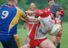 Despite torrential rain starting, Leyland Warriors made light of the conditions against Crosfields and ran out 36-6 winners.