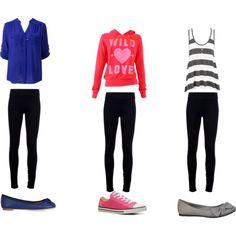 Cute casual fashion for teens