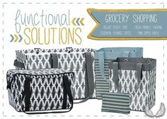 Thirty-One Functional Solutions - Grocery #mundanenomore #groceryhappyplace