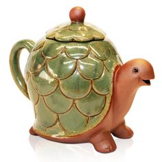 <3 2 of my favorite things...turtles and tea pots!