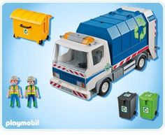 Voorbeeld playmobil truck