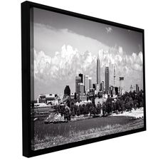 'Cleveland Pano 1' by Cody York Framed Photographic Print on Wrapped Canvas
