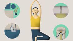 Haben Sie schon mal versucht, eine eingerollte Yogamatte auf dem Fahrrad zu transportieren? Diese Blamage ersparen wir Ihnen. So basteln Sie sich eine Yogamattentasche.