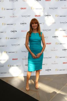 Jane Seymour - #Mc2014 #FestivaltvMonteCarlo #Carita #LeonorGreyl @LeonorGreyl #Valmont @Valmontcosmetic #Oilily.