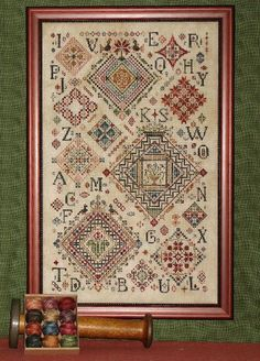 Love Rosewood Manor designs - samplers!!