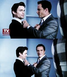 White Collar. Best Bromance since Kirk and Spock.