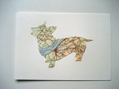 WALES by SewPaperArt, £5.00