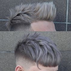 Mens grey hair color grey hair dye men moreover astounding hair types com to epic hair . Mens Haircuts Short Hair, Hairstyles Haircuts, Cool Hairstyles, Latest Hairstyles, Hair And Beard Styles, Short Hair Styles, Mens Hair Colour, Temporary Hair Color, Look Man