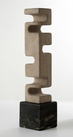 From Maison Gerard, Cesare Arduini, Untitled (2014), Carved limestone, 24 × 5 × 5 in