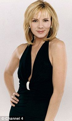 'I had to put 20lbs on for Meet Monica Velour... it was fantastic!' Kim Cattrall…