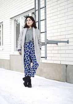 H&M Pants, Bik Bok Jacket, Weekday Jumper, Vagabond Shoes