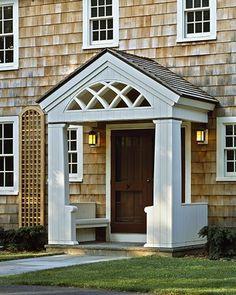 1000 images about door overhang design ideas on pinterest for Front door overhang ideas