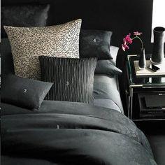 Calvin Klein Home Silken Mosaic Silver EURO Pillow Sham