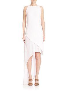 Adam Lippes - Pleated Asymmetrical Dress