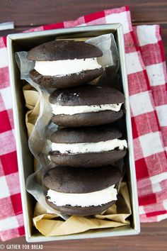 Classic Chocolate Whoopie Pies Recipe on Yummly. @yummly #recipe