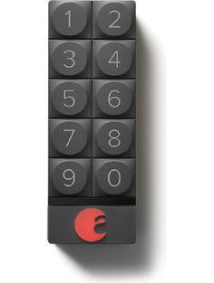 August Smart Keypad, Dark Gray ❤ August Lock