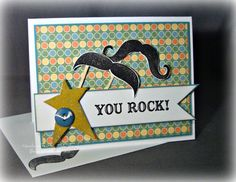 Mustache Any Occasion Card