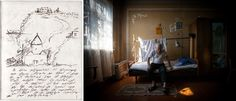 With relatives' help, Movses Haneshyan, 106, drew a map of his village for photographer Diana Markosian and asked her to find his old church.