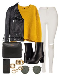 """""""Untitled #654"""" by arythebeeslayer on Polyvore featuring Topshop, H&M, Paul Smith, Acne Studios, Linea Pelle, Marc by Marc Jacobs, Ray-Ban and Apt. 9"""