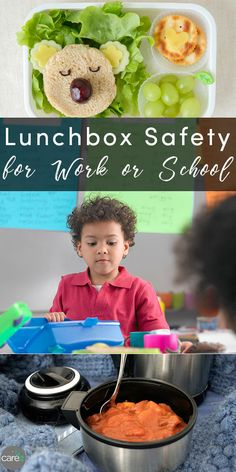 There's more to a healthy lunch than the food itself. Let's talk packed lunch safety!