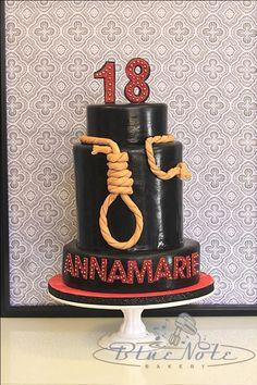 ChickfilA 10th Birthday cake Blue Note Bakery Austin Texas
