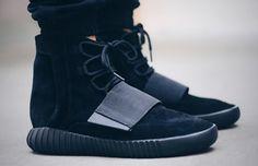 adidas Yeezy Boost 750 'Core Black' (via Kicks-daily.com)
