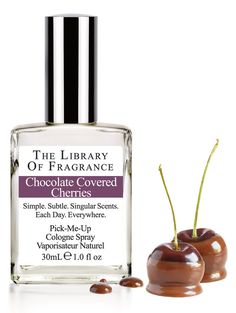 Chocolate Covered Cherries Cologne – Extraordinary scent & perfume from The Library of Fragrance – The Library of Fragrance